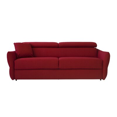 Beth Sleeper Sofa Upholstery: Red