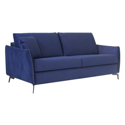 Kristen Sleeper Sofa Upholstery: Navy Blue