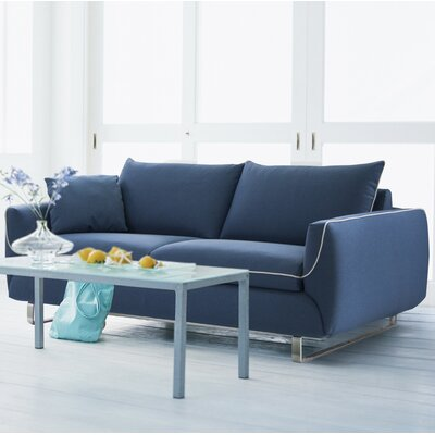 Joann Queen Sleeper Sofa Upholstery: Ocean Blue