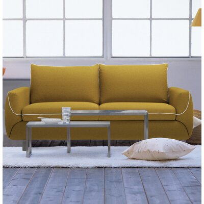Joann Queen Sleeper Sofa Upholstery: Summer Orange