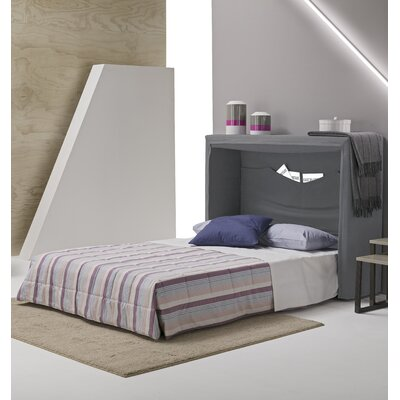 Sue Full Upholstered Murphy Bed Color: Light Gray