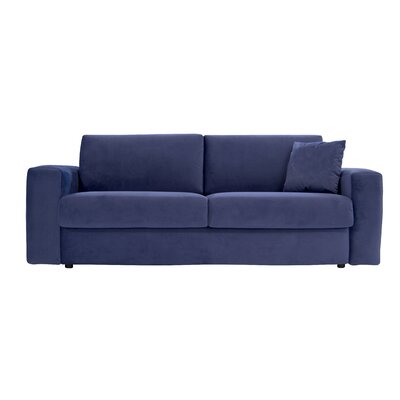 Walkowiak Cloud Queen Sofa Upholstery: Navy Blue