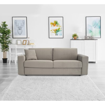 Walkowiak Cloud Queen Sofa Upholstery: Light Gray