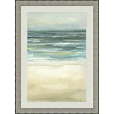 'Sea III' Framed Painting Print