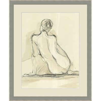 'Neutral Figure III' Framed Painting Print