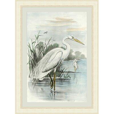 Oversize Heron Framed Painting Print GBL68215