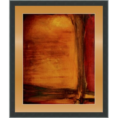 'Red Dawn I' Framed Painting Print GBL72348