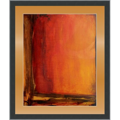 'Red Dawn II' Framed Painting Print GBL72349
