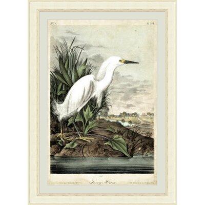 'Heron I' Framed Painting Print GBL92386