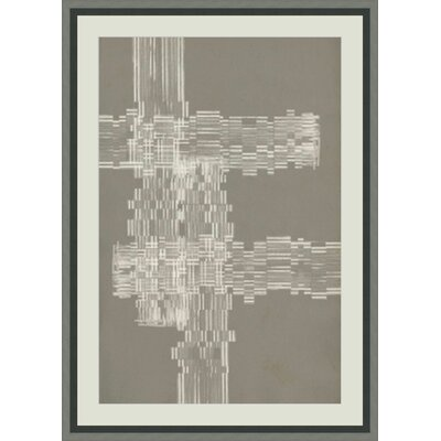 'Stagger Start III' Framed Graphic Art GBL93155