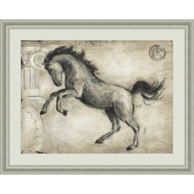 'Roman Horse II' Framed Painting Print GBL50867