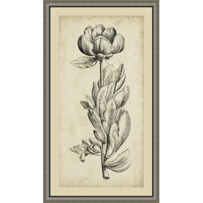 'Singular Beauty IV' Framed Painting Print GBL87749