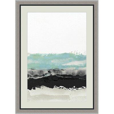 'Permafrost I' Framed Painting Print GBL89949