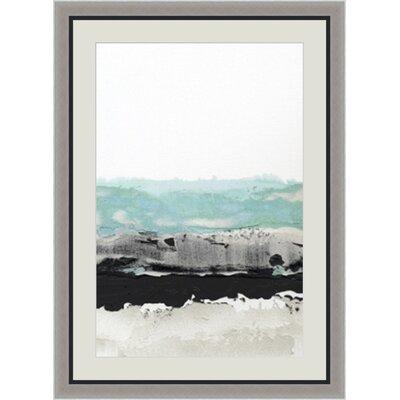 'Permafrost II' Framed Painting Print GBL89950