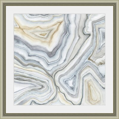 'Agate Abstract II' Framed Painting Print GBL90592