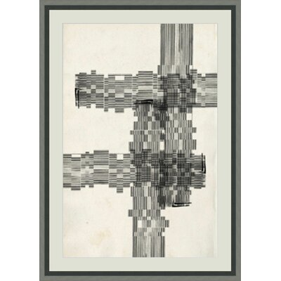 'Stagger Start II' Framed Graphic Art GBL93154