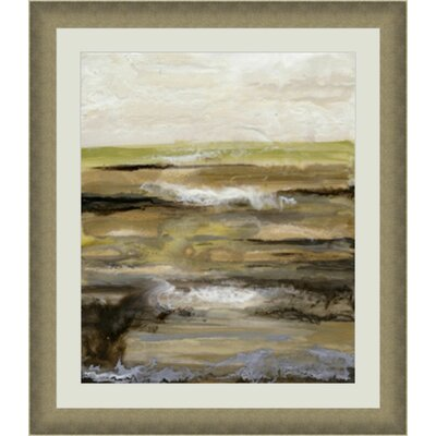'Organic Landscape IV' Framed Painting Print GBL20741