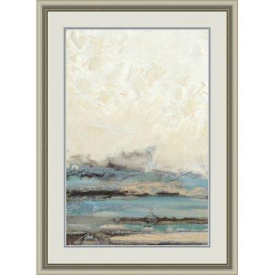 'Aqua Seascape I' Framed Painting Print GBL20742