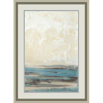 'Aqua Seascape II' Framed Painting Print GBL20743