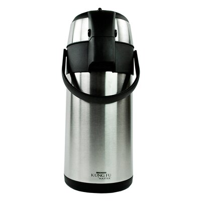 "Kung Fu ""Master"" 13 Cup Double Wall Stainless Steel Airpot KF-5700"