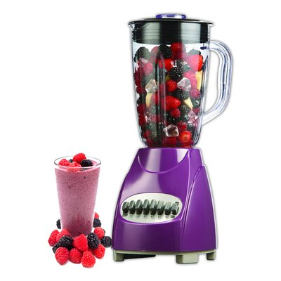 12 Speed Blender Color: Purple ED-160P