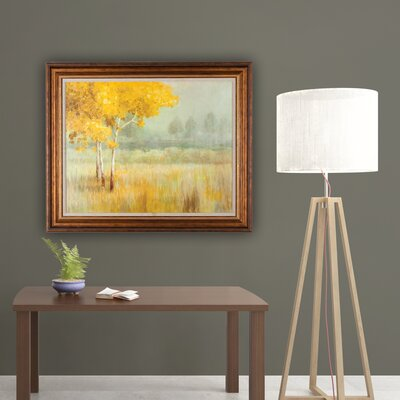 'Landscape' Framed Painting Print on Wrapped Canvas