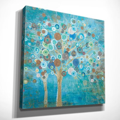 'Blooming Spring' Oil Painting Print on Wrapped Canvas Size: 16