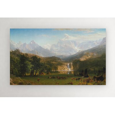 'The Rocky Mountains' Photographic Print on Wrapped Canvas Size: 12