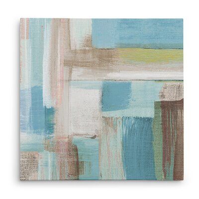 'Tuscany Revisited I' Acrylic Painting Print on Wrapped Canvas Size: 16