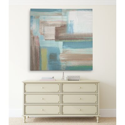 'Tuscany Revisited II' Acrylic Painting Print on Wrapped Canvas Size: 16