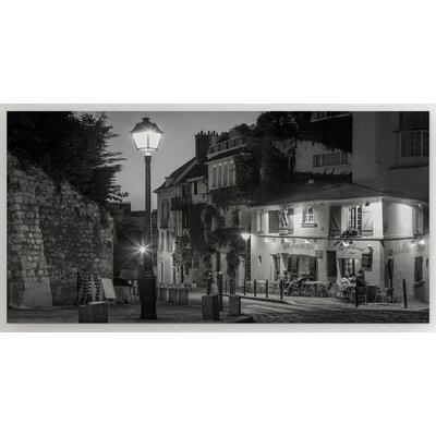 'Twilight at Maison Rose' Photographic Print on Wrapped Canvas Size: 12