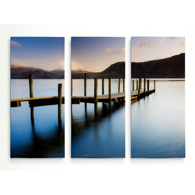 'Brandlehow Bay Jetty' Photographic Print Multi-Piece Image on Wrapped Canvas Size: 24