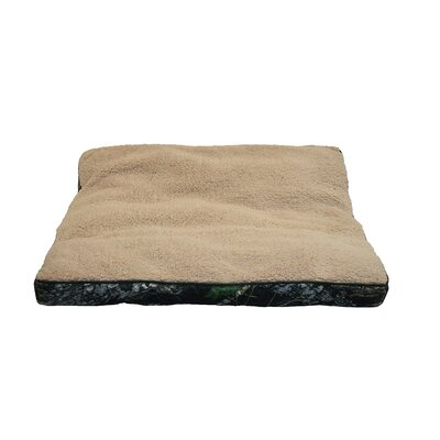 Mossy Oak Rectangle Dog Bed