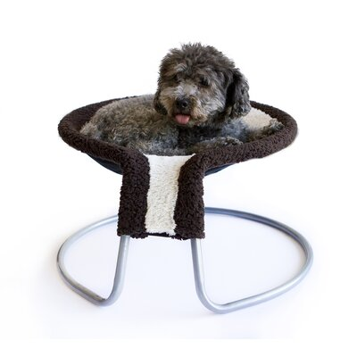 Fleece Rim Deluxe Cat Napper Chair Bed