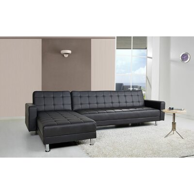 Reversible Chaise Sleeper Sectional