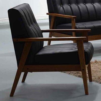 Aarhus Armchair Upholstery: Black