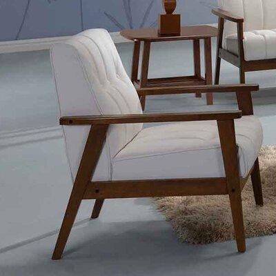 Aarhus Armchair Upholstery: White