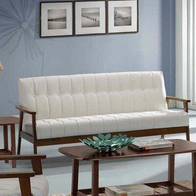 Aarhus Sofa Upholstery: White