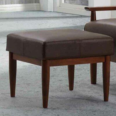 Bergen Ottoman Upholstery: Dark Brown
