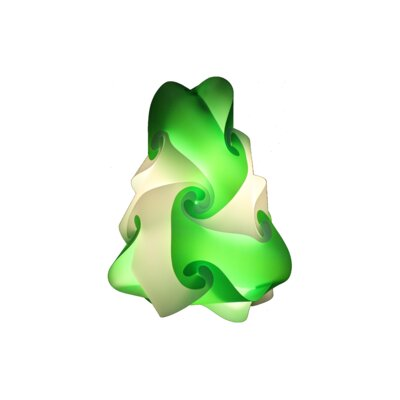 15 Element Pendant Shade Color: Green