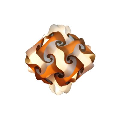 32 Element Pendant Shade Color: Brown, Size: Small
