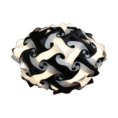 80 Element Globe Pendant Size: Small, Shade Color: Black