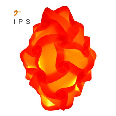 24 Element Mini Pendant Shade Color: Orange, Size: 20 H x 13 W x 13 D