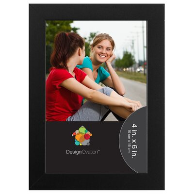 Gallery Wood Picture Frame Color: Black 209463