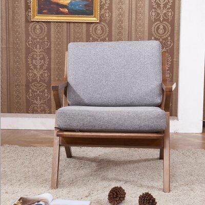 Solid Ash Club Arm Chair