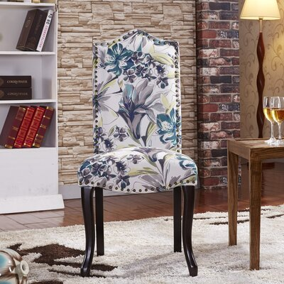Nottingham Parsons Chair Upholstery: Tropical Floral