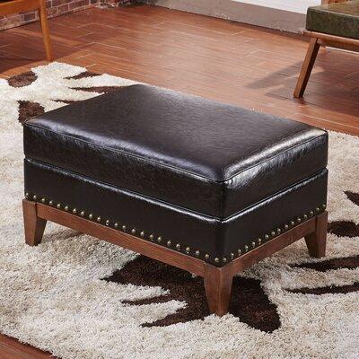 Premium Ottoman Upholstery: Black
