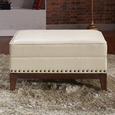 Premium Ottoman Upholstery: Creamy White