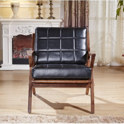 Frideric Signature Designs Arm Chair Upholstery: Black