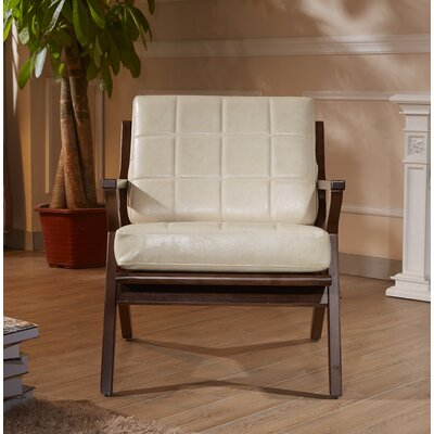 Frideric Signature Designs Armchair Upholstery: Creamy White